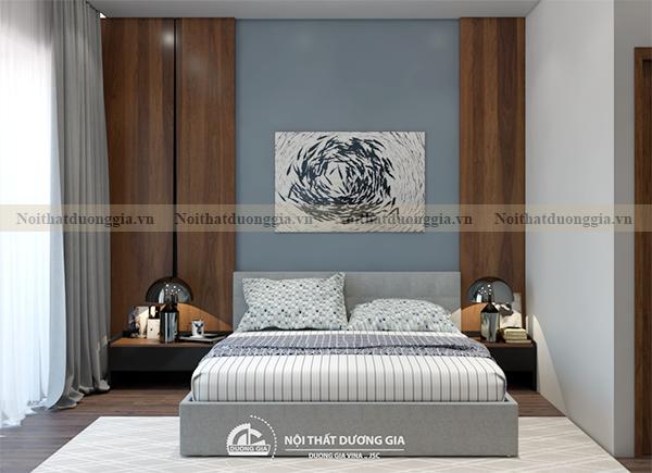 Thiết kế nội thất gia đình NTGD-DG17 - phòng ngủ con trai (view 1)