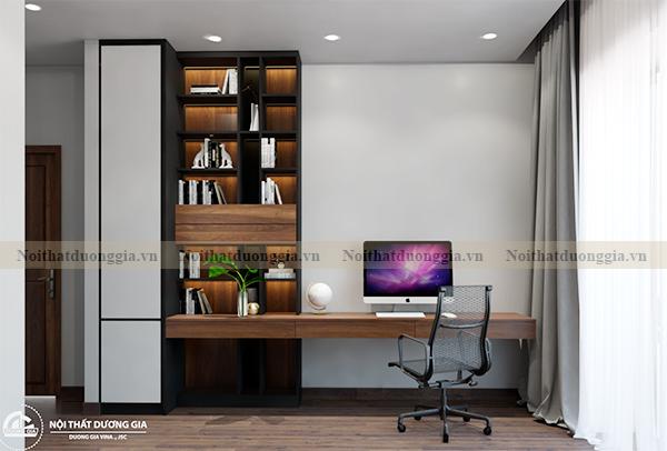 Thiết kế nội thất gia đình NTGD-DG17 - phòng ngủ con trai (view 2)