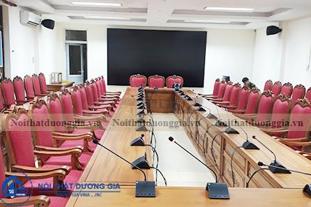 Thiết kế phòng họp cao cấp PH-DG33
