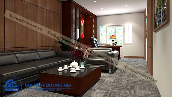 Lựa chọn nội thất phòng Giám đốc phù hợp diện tích phòng