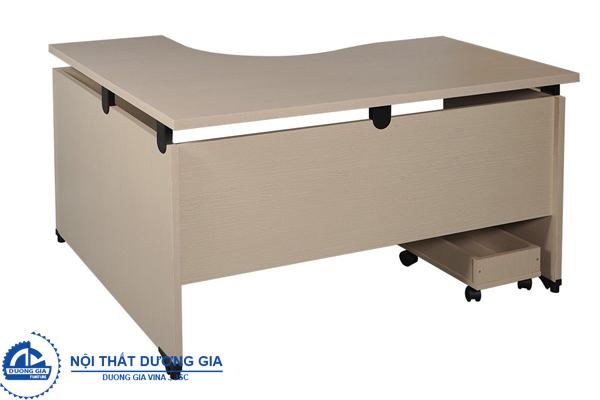 Mẫu bàn văn phòng 1m4 đơn giản NTL14