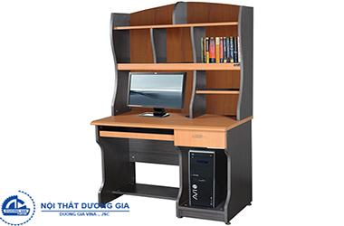 Ưu điểm của bàn văn phòng liền giá sách là gì? Mua ở đâu yên tâm nhất?