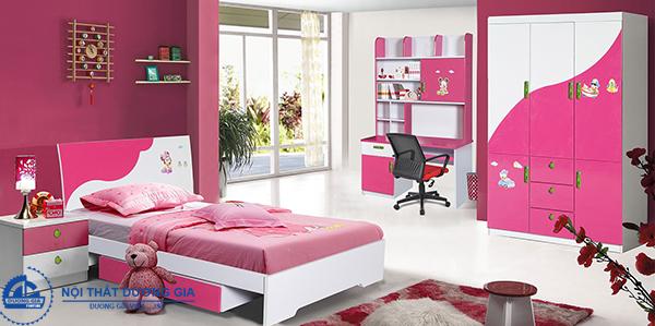 Bộ giường tủ Hòa Phát dành cho trẻ em 02