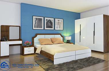 Điểm danh các mẫu nội thất phòng ngủ Hòa Phát thiết kế đẹp, tiện nghi