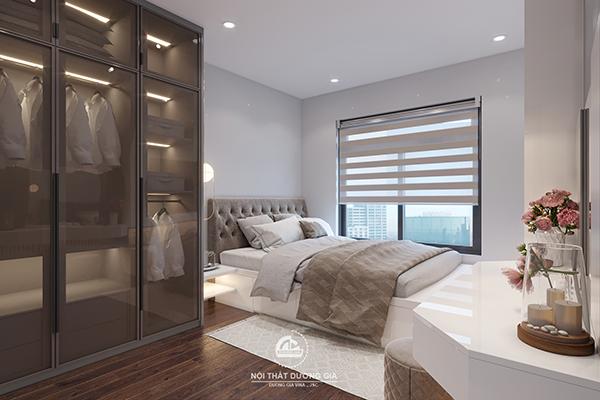 Thiết kế phòng ngủ Master sang trọng