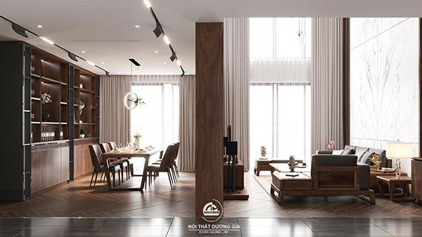 Các mẫu thiết kế nội thất gia đình: Thiết kế phòng khách đẹp