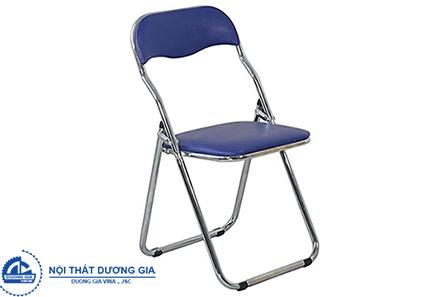 Ghế gấp GG02B-M bọc PVC đơn giản