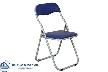 Ghế gấp GG02B-S bọc PVC đơn giản