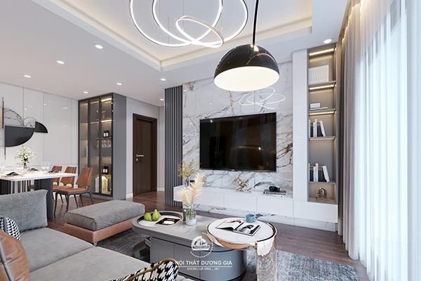 Mẫu nội thất phòng khách đẹp số 5